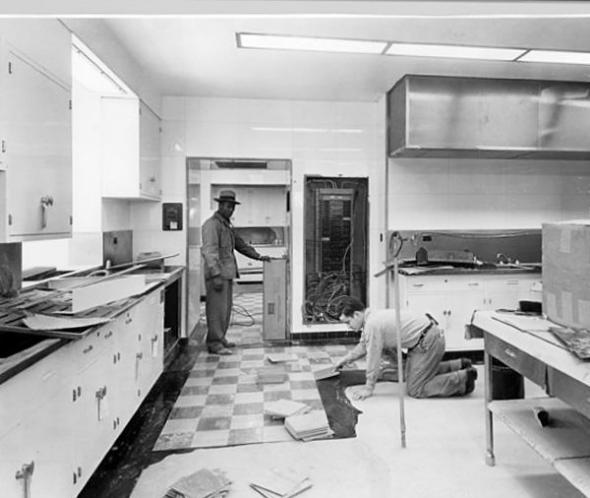 White House kitchen, 1952