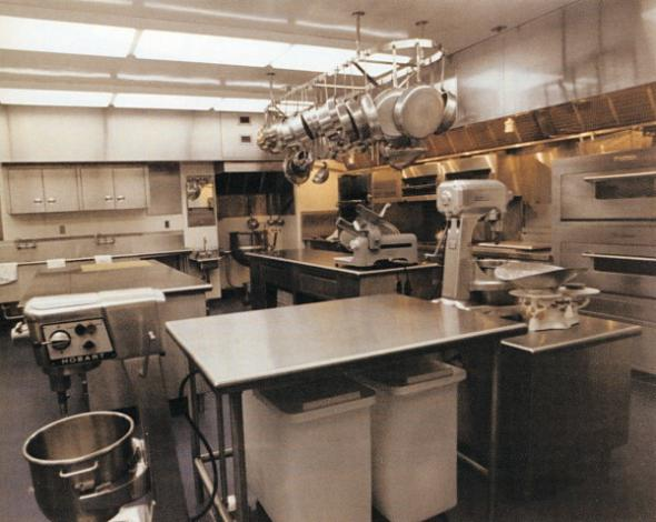 White House kitchen, 1971