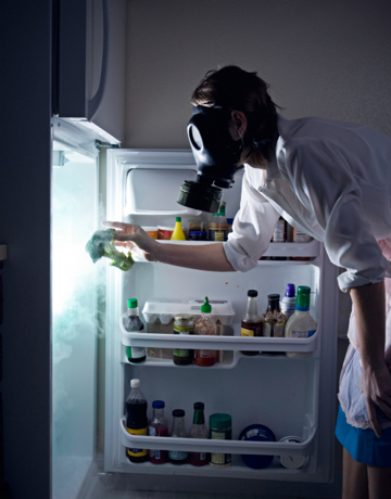 Fridge cleaning