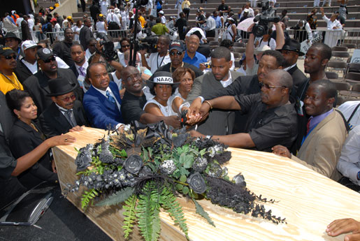 NAACP funeral for the N-word