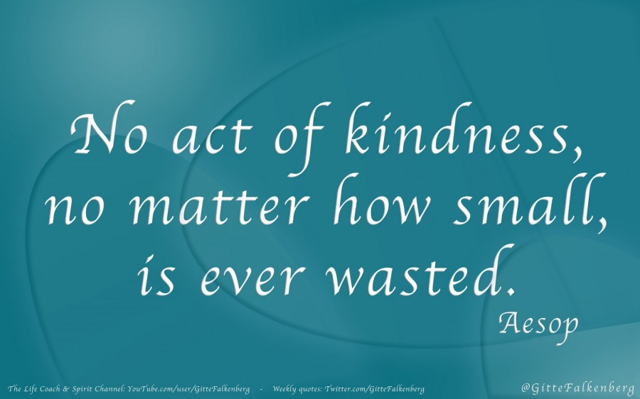 A Simple Act Of Kindness Psychology Today