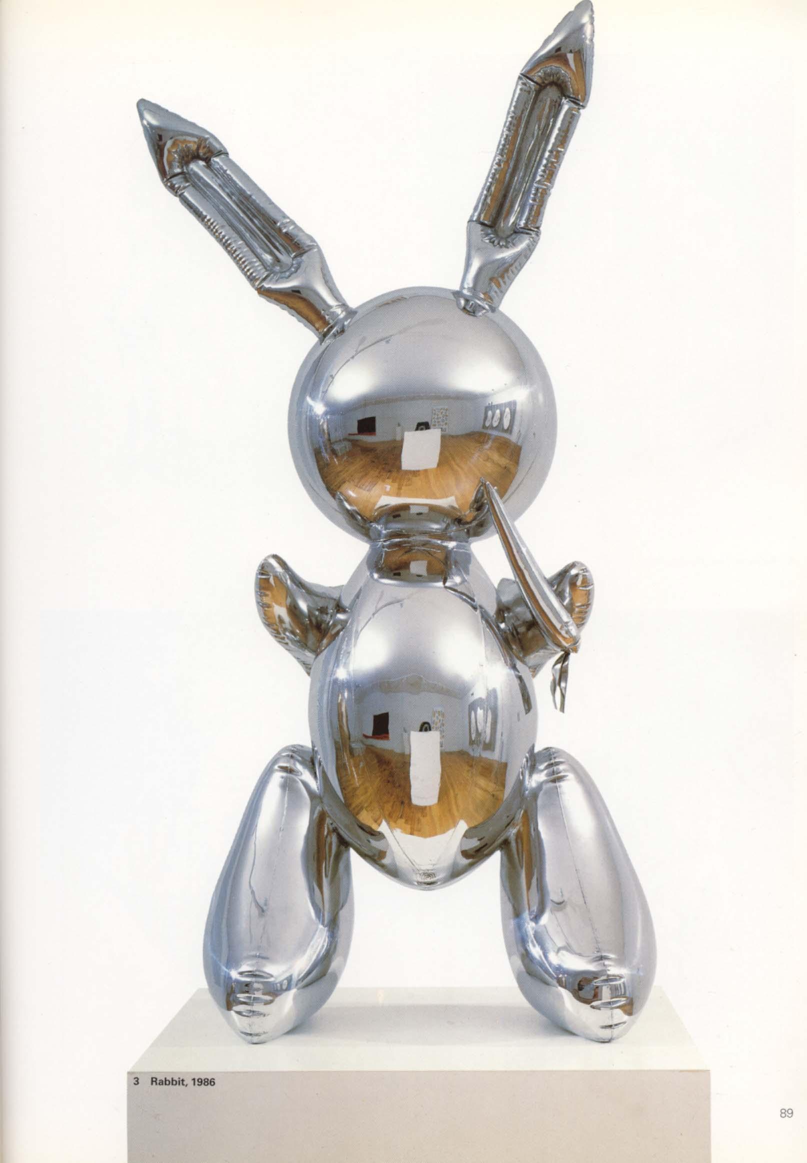 Znalezione obrazy dla zapytania jeff koons bunny