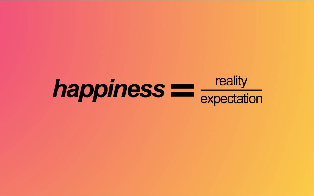 Is Happiness Reality Expectations A Good Formula Psychology Today
