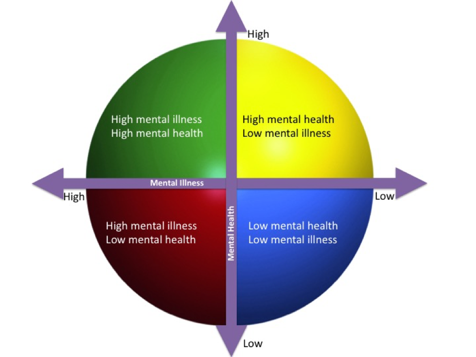 The Difference Between Mental Health and Mental Illness