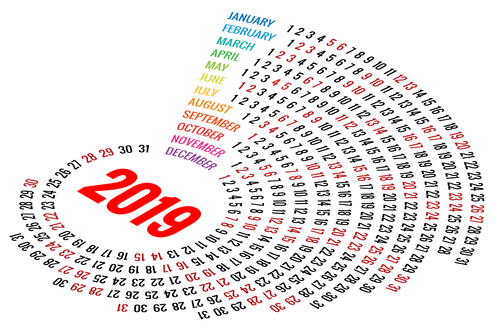 Making a Difference in 2019: An Awareness Calendar