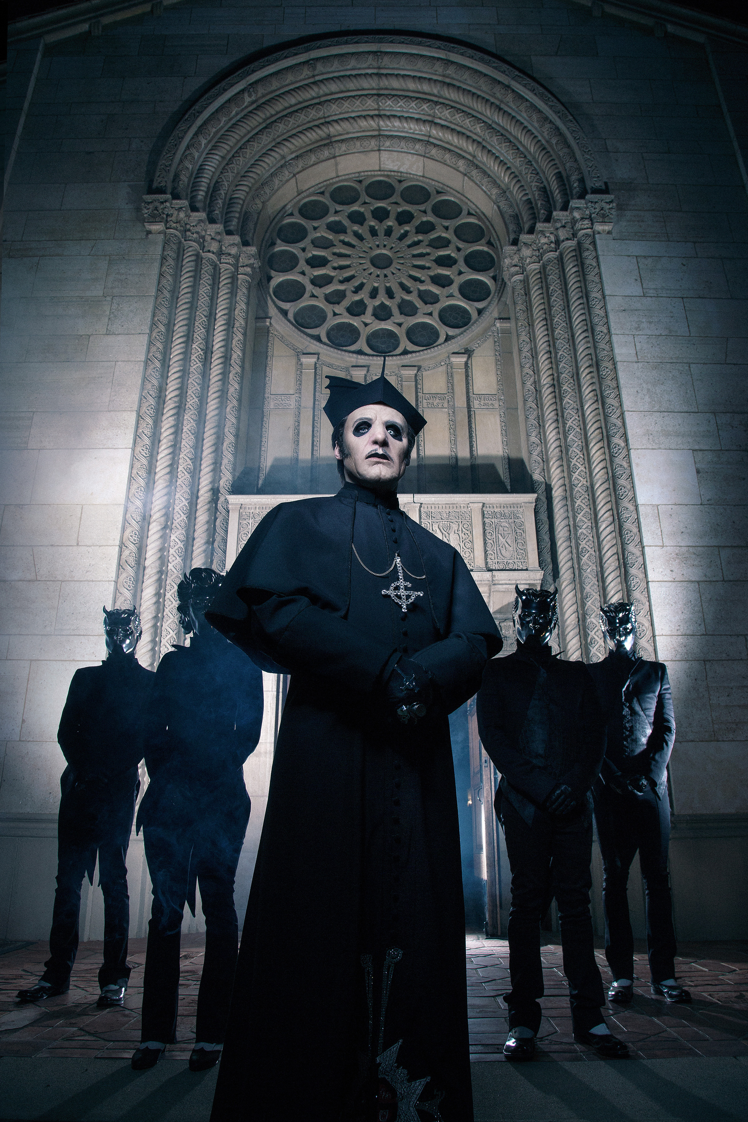 Tobias Forge and Ghost