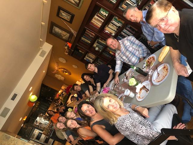 Suzie's family birthday celebration
