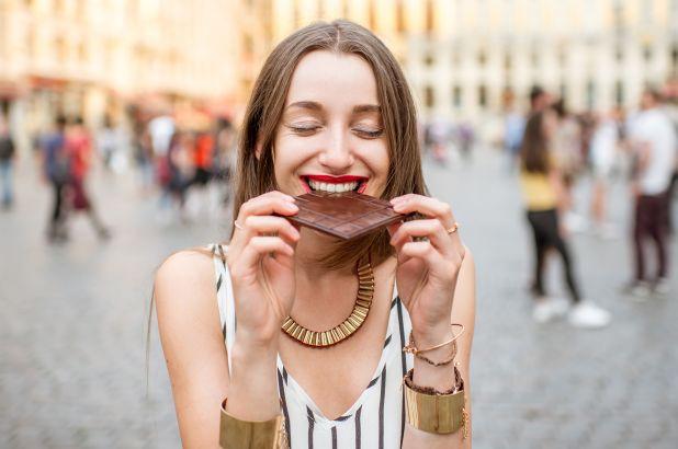 Manfaat cokelat meredakan stres