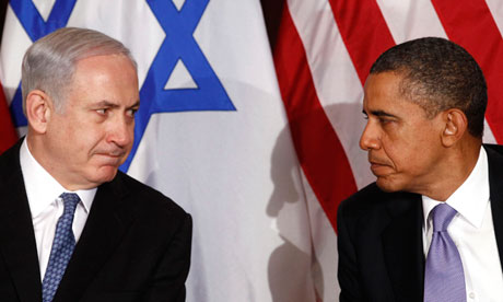 Image result for pictures of obama and netanyahu
