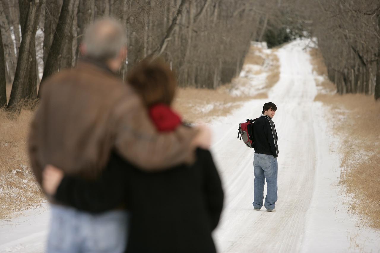 child walking away - photo #9