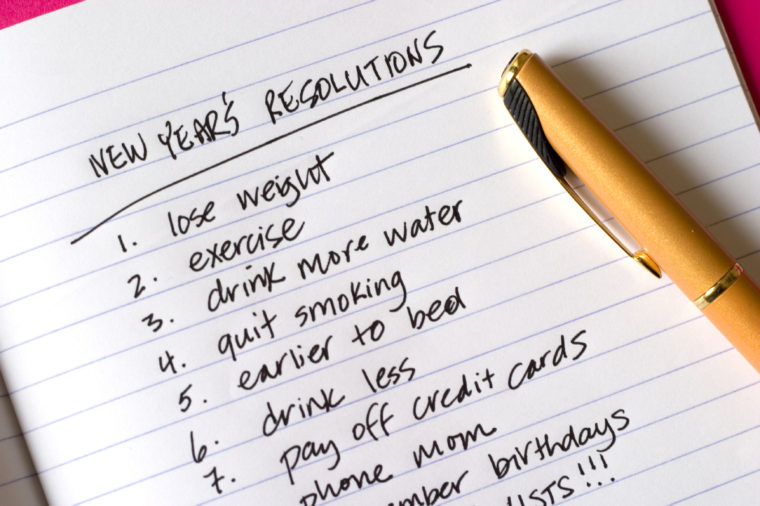 40 Reasons You Shouldn't Make A New Year's Resolution Psychology Today Awesome New Year Resolutions Quotes About Love