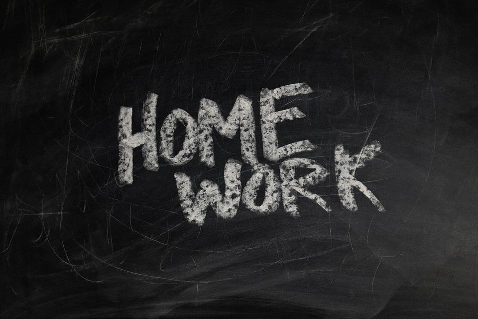 Homework or home work