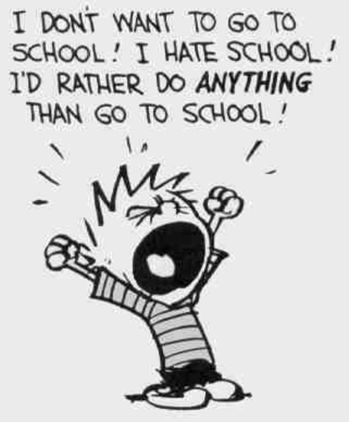 """Why Don't Students Like School?"""" Well, Duhhhh… 