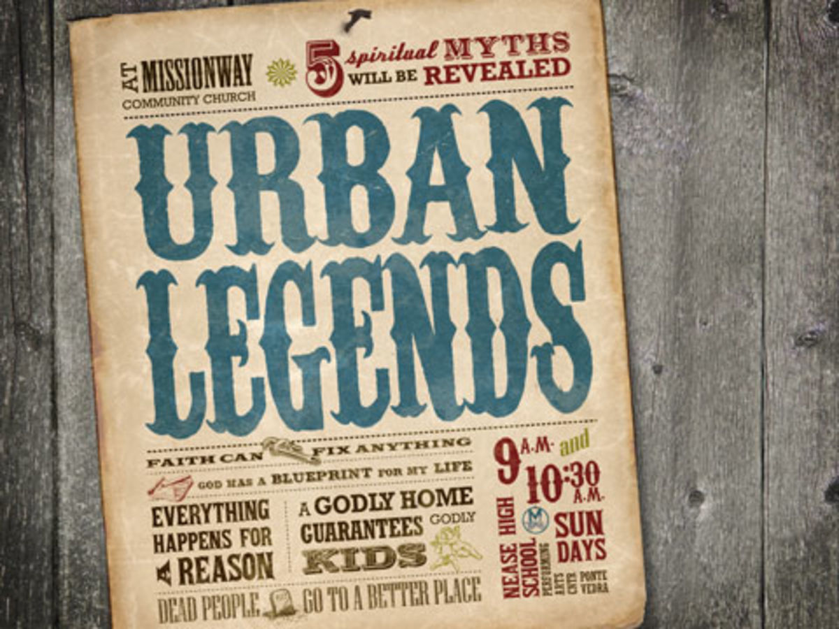 Urban Legends: Strange, Funny, & Horrible, with a Moral