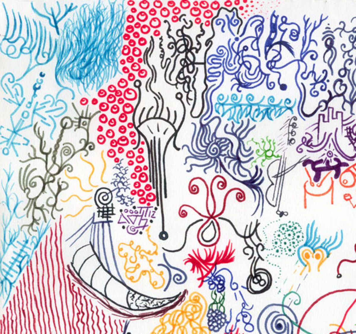 Test Draws On Doodles To Spot Signs Of >> Doodling Your Way To A More Mindful Life Psychology Today