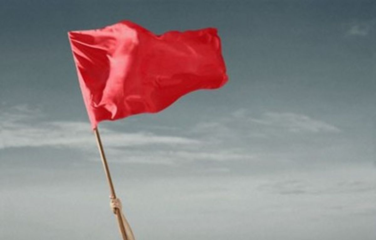 Red flags when hookup a divorced man