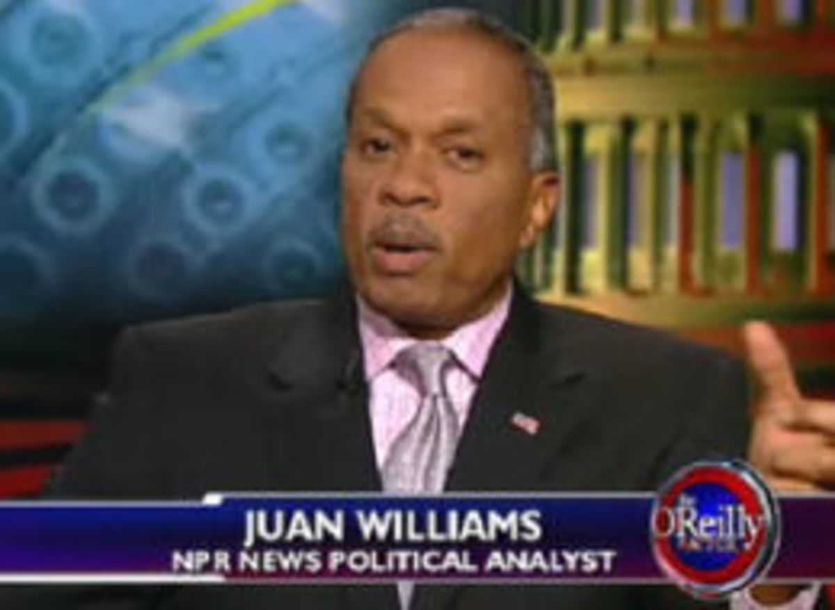 If you see Juan Williams at the airport, be afraid—be very