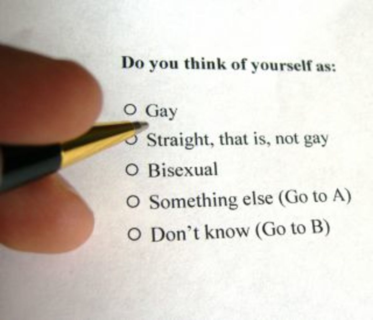 """Do You Know What """"Straight"""" Means? 