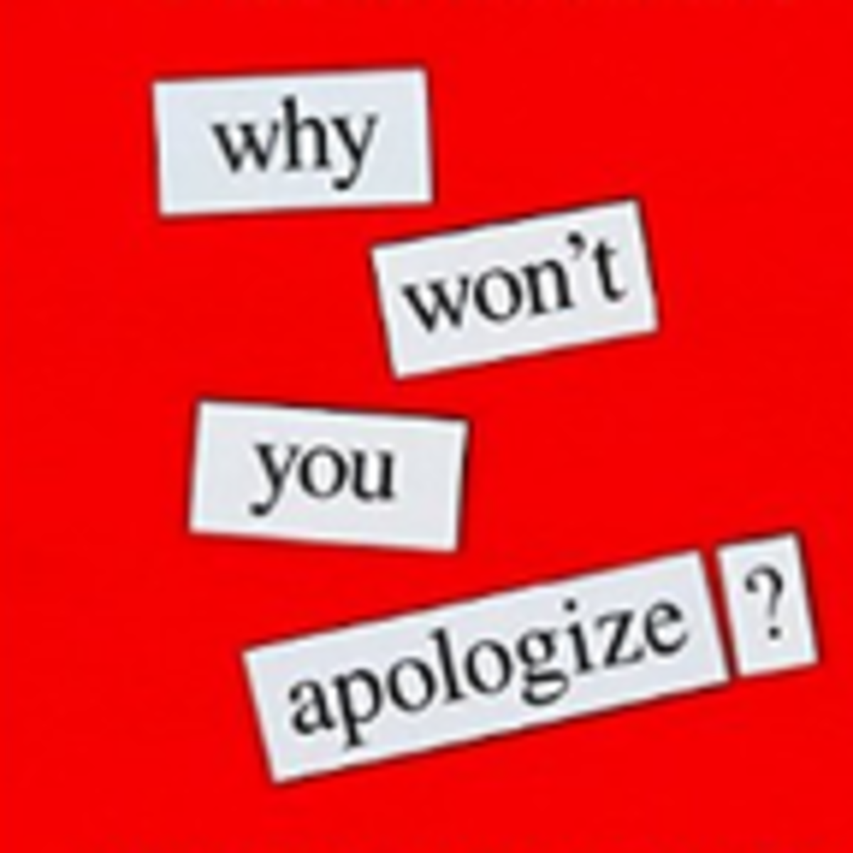 Why That Person Who Hurt You Will Never Apologize