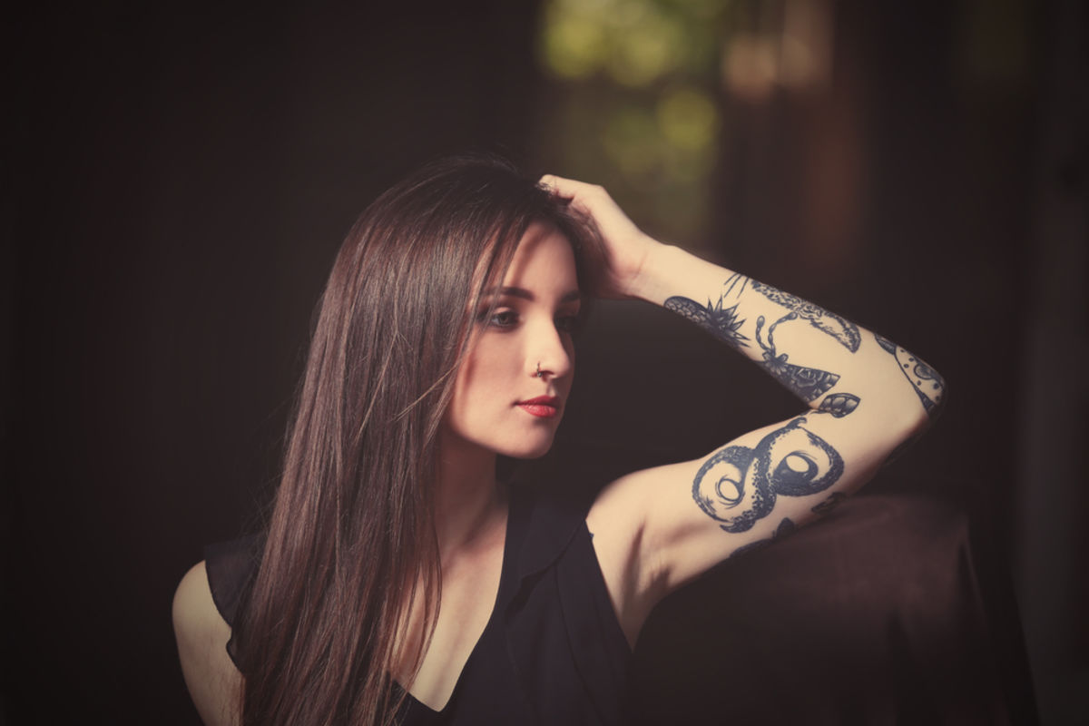 What People Really Think About Women With Tattoos