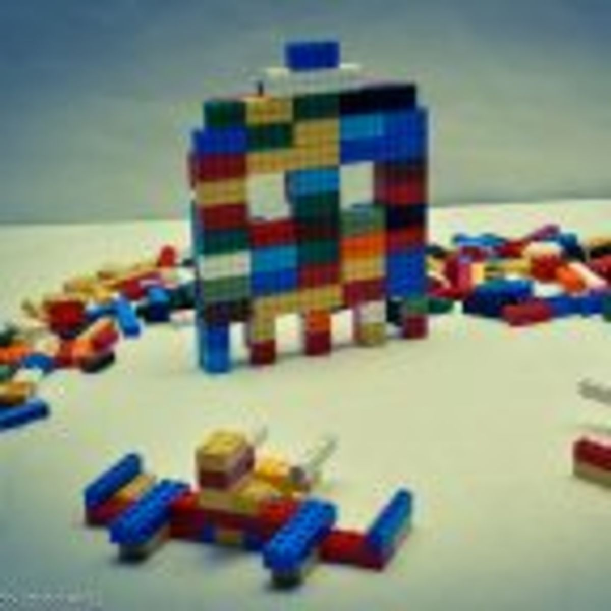 Building With LEGO Kit Instructions Makes Kids Less Creative