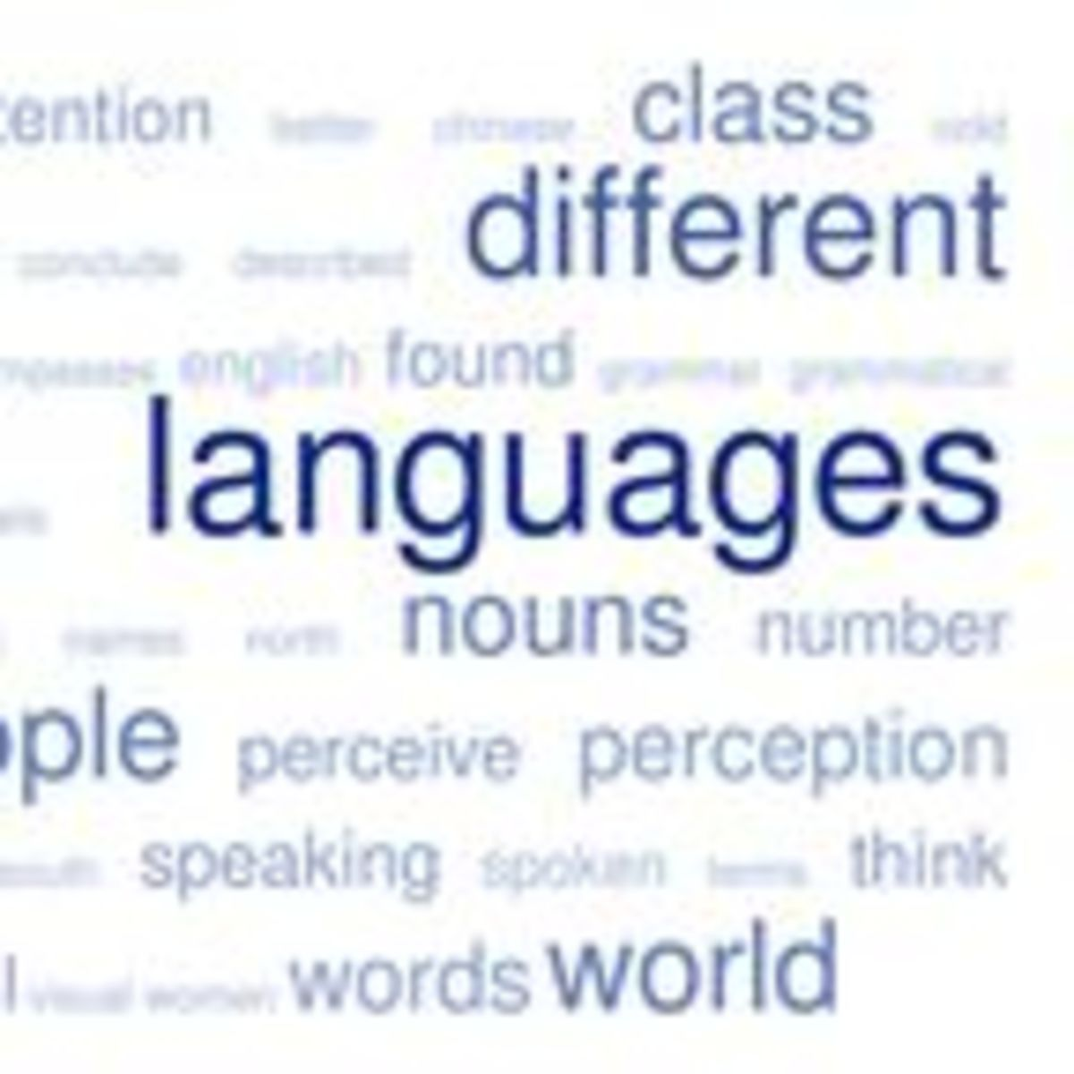 How the Language We Speak Affects the Way We Think