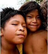 Aché children by Shoot and Scribble/Wikimedia Commons