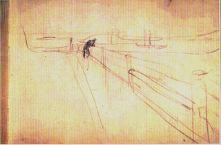 Edvard  Munch,  Study  c.1891-2. Pencil on  paper.  Munch  Museum,  Oslo.  QC   2001  The  Munch Museum/The Munch-Ellingsen Group/Artists Rights Society (ARS), New York. Reproduced with permission.