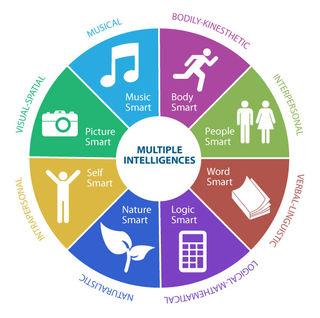 Seven types of intelligences