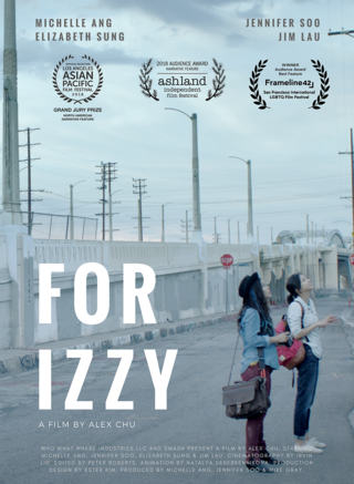 For Izzy poster, courtesy filmmakers