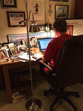 Writer at Work/Bonnie Seaburn