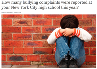 Criminalizing Bullying Discourages >> The Futile New York City Class Action Bullying Settlement