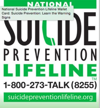 national suicide prevention website