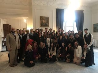 Stoneman Douglas students visit Government House, 27 July 2018  US Embassy from New Zealand