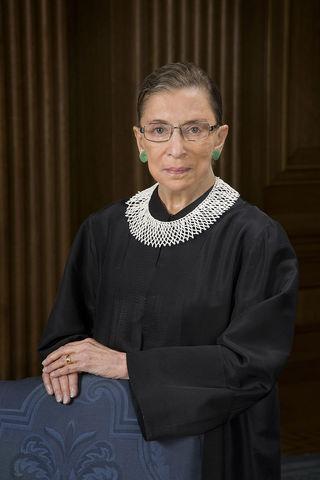 ruth Bader Ginsburg, official SCOTUS photo