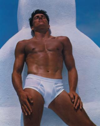 Bruce Weber/Calvin Klein Ad Circa 1982 (Fair Use)