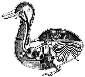 """Jacques de Vaucanson, """"Digesting Duck"""""""