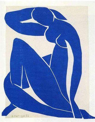 Blue Nude, Henri Matisse, 1952 Fair Use
