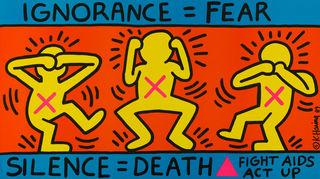 Keith Haring/Public Domain
