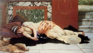Godward-Endymion 1893, public domain
