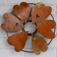 Rusted metal heart, Pixnio