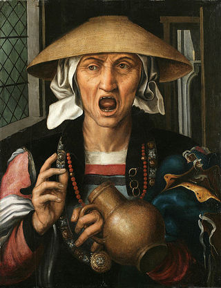Woman Enraged, by Pieter Huys, courtesy of Wikimedia Commons