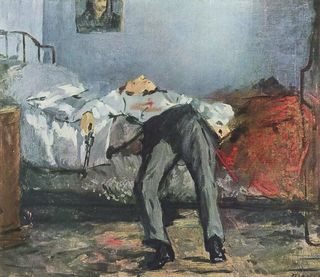 "Edouard Manet, ""Le Suicide"""