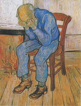 Sorrowing Old Man (At Eternity's Gate) by Vincent van Gogh/Public Domain