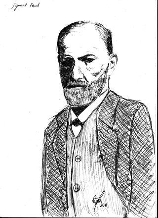 Sigmund Freud by Raul SMJ, C.C. by 2.0