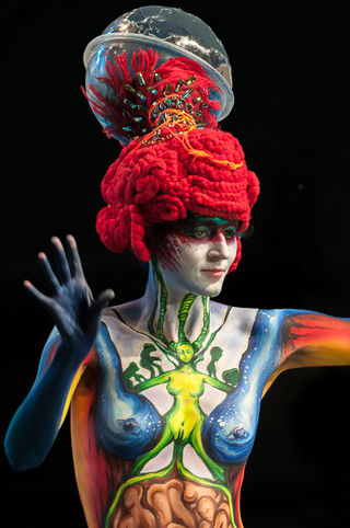 Photo by Min Ah KIM, World Body Painting Festival 2013