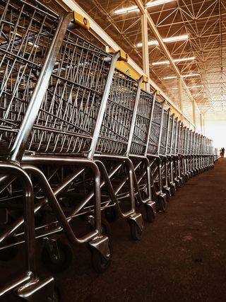 Shopping Carts/ Jonathan Borba/ Unsplash/ Licensed Under CC BY 2.0