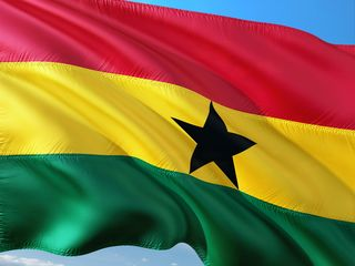Ghana Flag/Pixabay