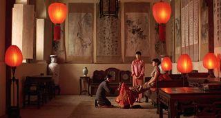 Raise the Red Lantern movie scene