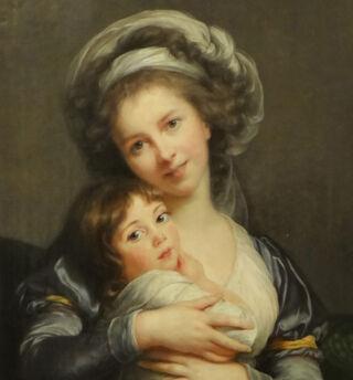 Elisabeth Louis Vigée Le Brun, Musée du Louvre / Wikimedia Commons